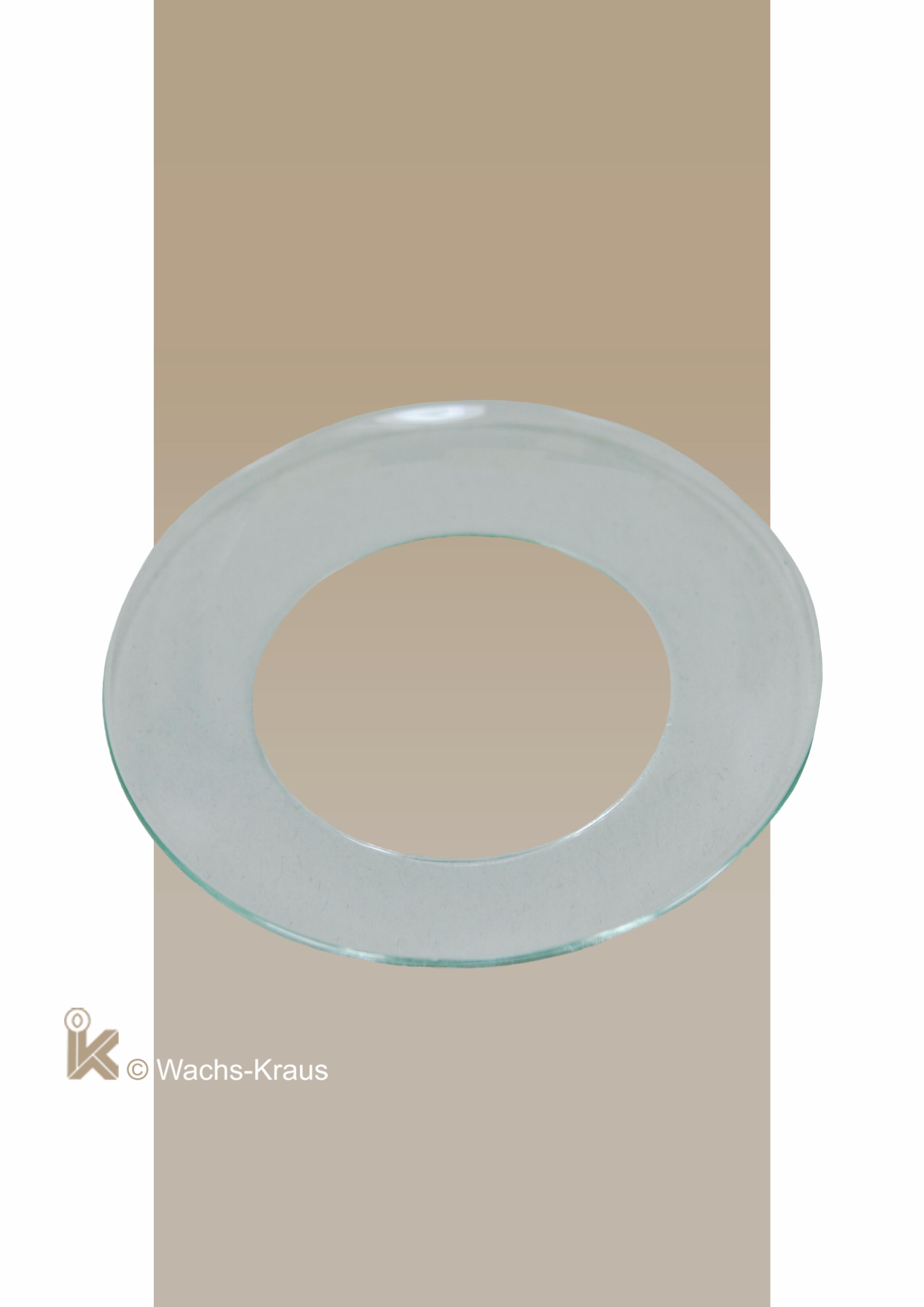 Topfschutz für Kommunionkerzen aus Glas