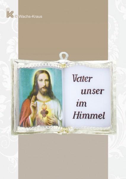 Wachsbuch Vater unser