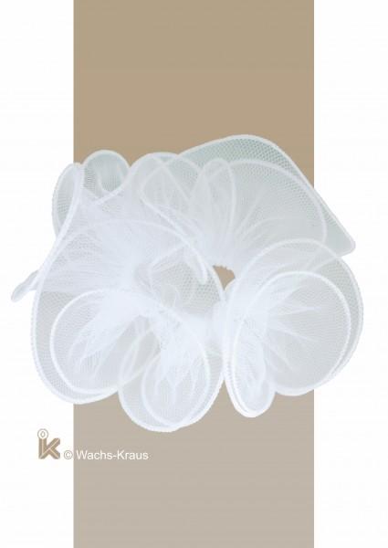 Tropfschutz Tüll weißer Saum