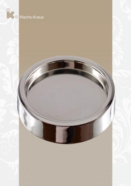 Kerzenhalter für Hochzeitskerzen, Messing Silber