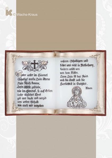 Wachsbuch Vater unser im Himmel zum Aufhängen