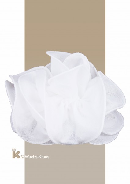 Tüll-Tropfer weißer Saum