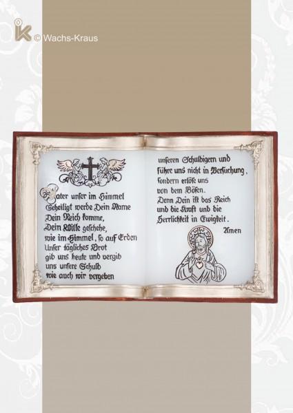 Buch aus Wachs, Vater unser