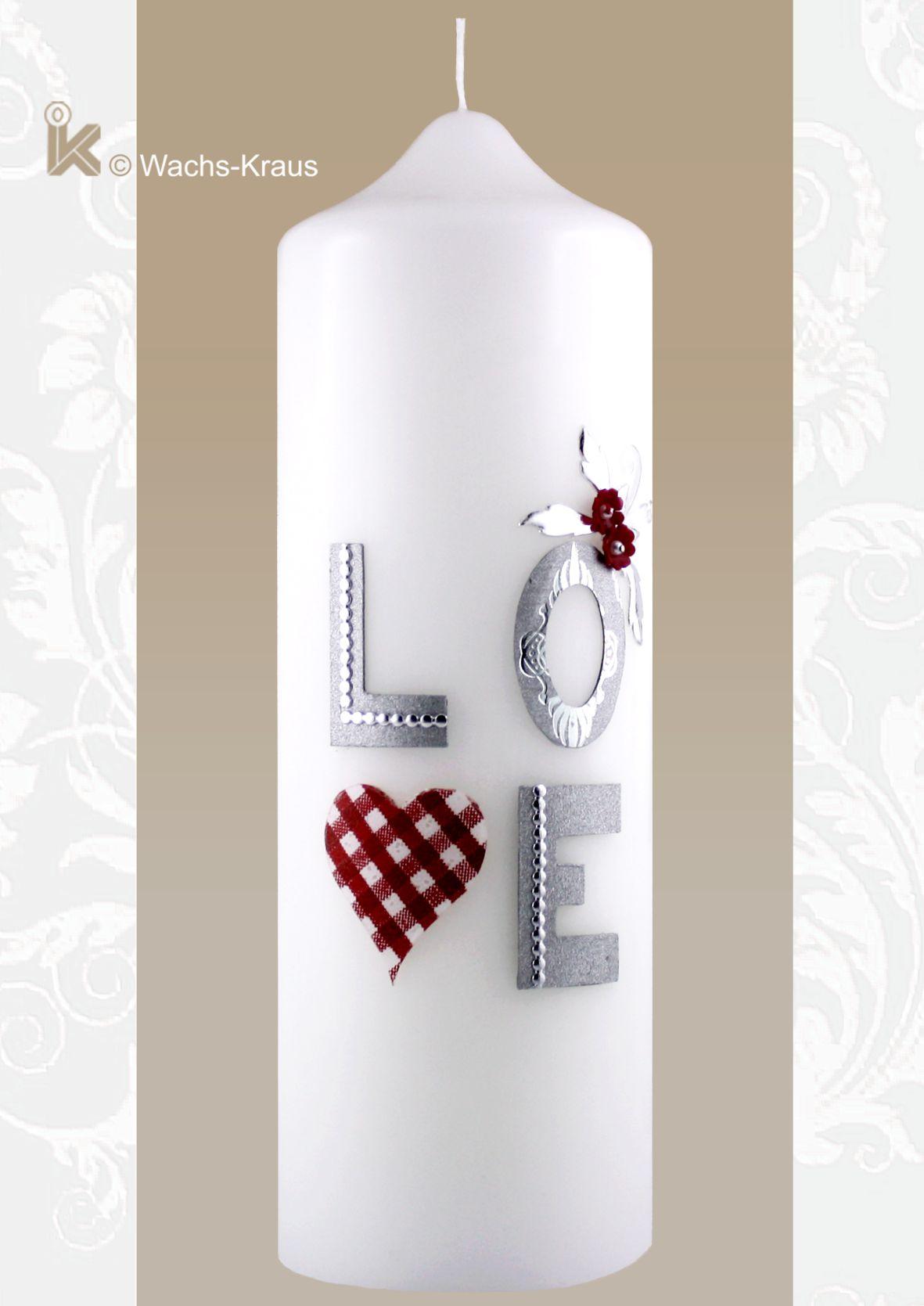 Ob zur Verlobung oder zur Hochzeit: Love und alles ist gesagt...