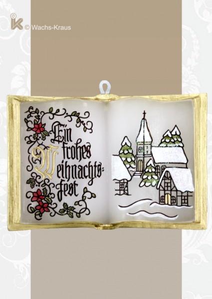 Wachsbuch Frohe Weihnachten