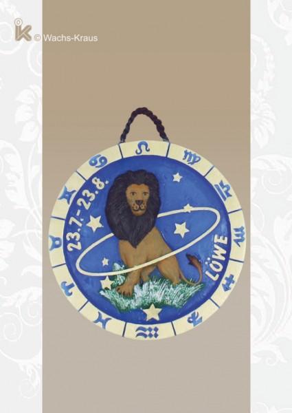 Sternzeichen Löwe, Relief zum aufhängen