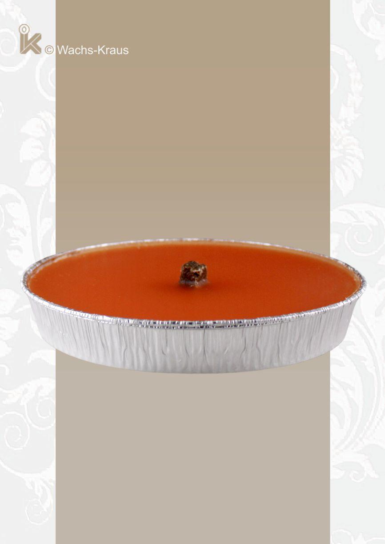 Flammschale für Ihre nächste Gartenparty. Farbe: orange