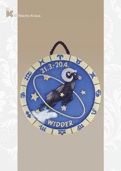 Sternzeichen Widder Relief