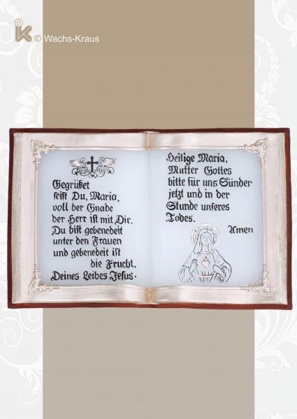 Buch aus Wachs, Gegrüsset seist du Maria