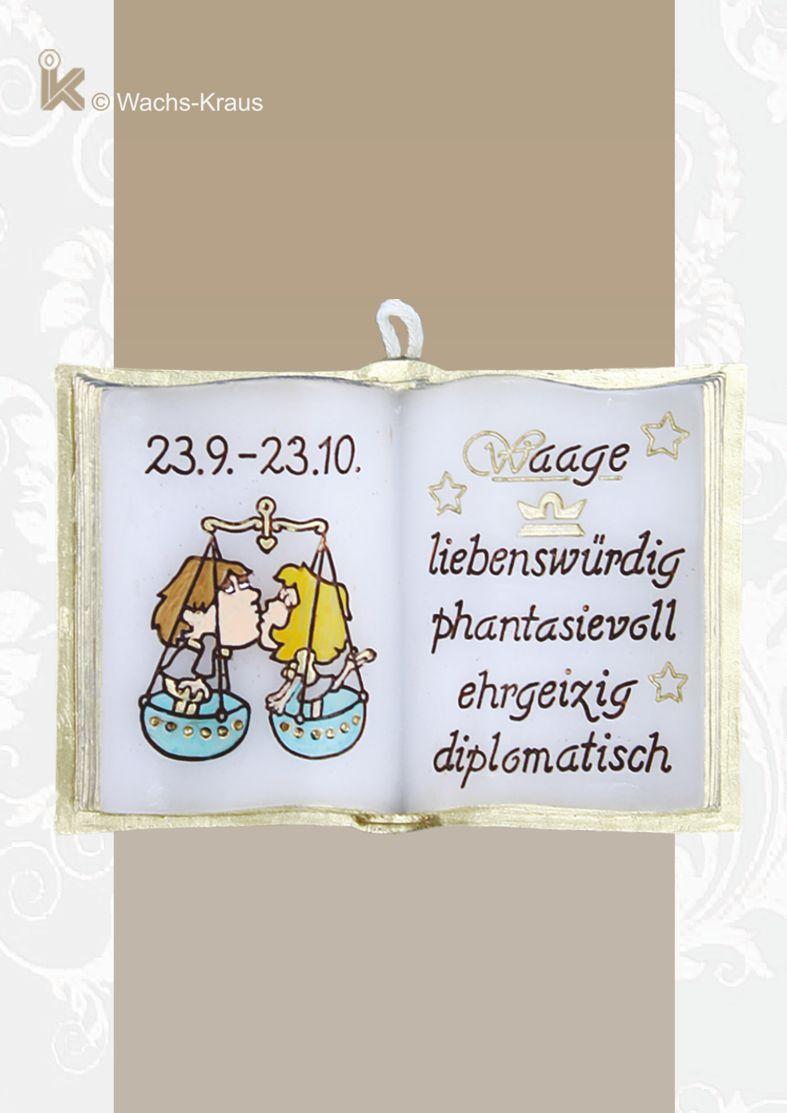 Im Sternzeichen Waage geborenen, zwischen dem 23.9. und 23.10. sagt man nach, dass er liebenswürdig, fantasievoll, ehrgeizig und diplomatisch ist.