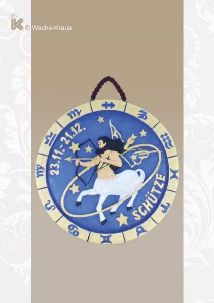 Sternzeichen Schütze, Relief zum aufhängen