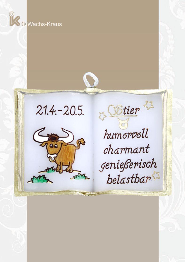 Der zwischen dem 21.4. und 20.5. geborene Stier soll humorvoll, charmant, genießerisch und belastbar sein.