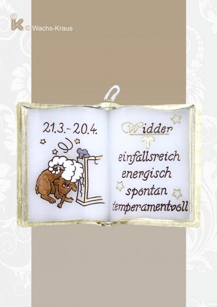 Widder Sternzeichen Wachsbuch