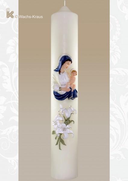 Marienkerze Maria mit Kind